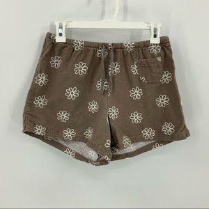 Life is good coton daisy print elastic waist short